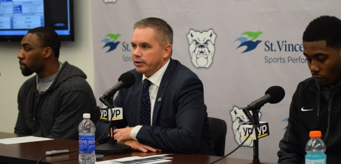 Press Conferences: Butler Rights Ship Against Georgetown
